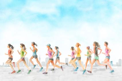 フルマラソン平均タイム(女性)